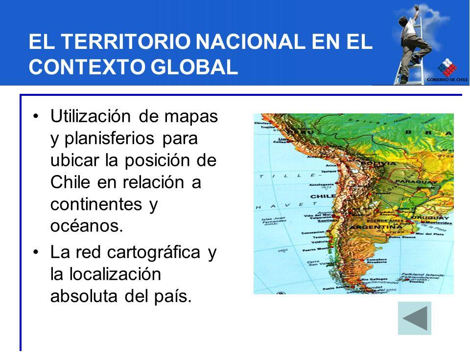 EL TERRITORIO NACIONAL EN EL CONTEXTO GLOBAL