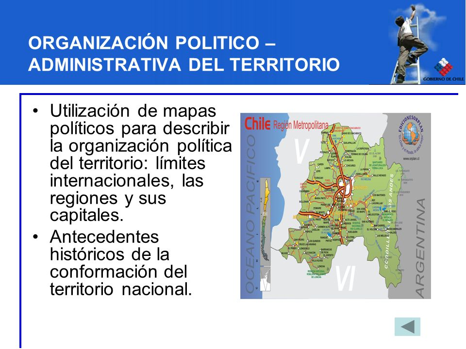 ORGANIZACIÓN POLITICO – ADMINISTRATIVA DEL TERRITORIO