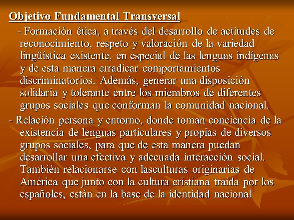 Objetivo Fundamental Transversal