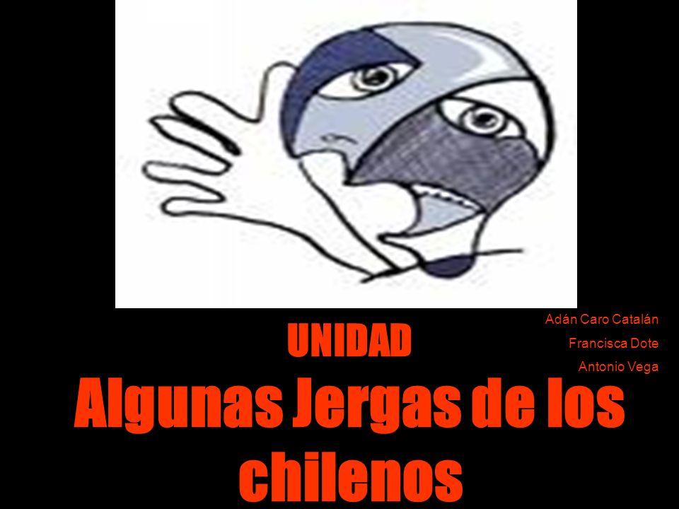 UNIDAD Algunas Jergas de los chilenos