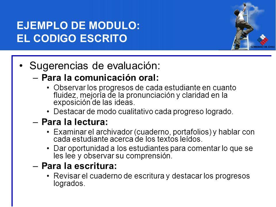 EJEMPLO DE MODULO: EL CODIGO ESCRITO