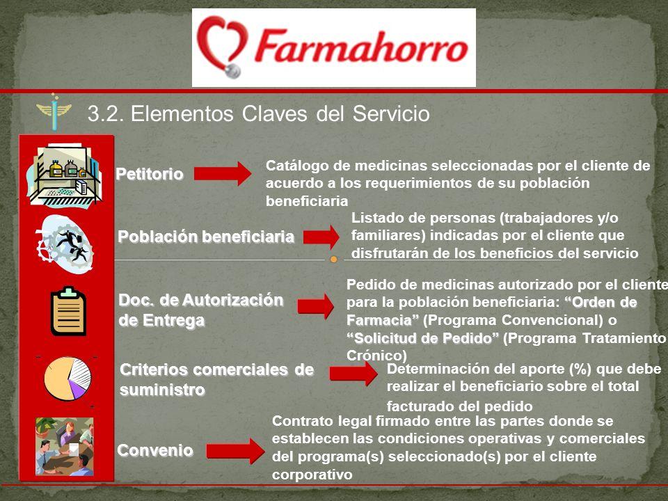 3.2. Elementos Claves del Servicio