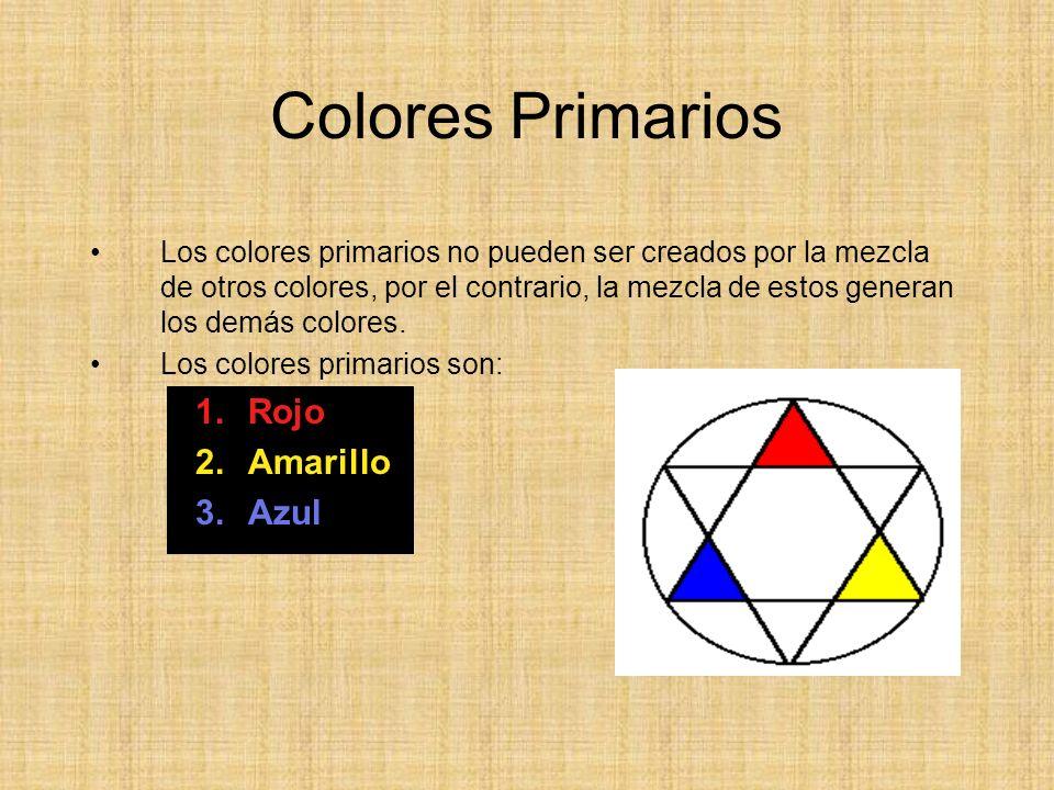 Colores Primarios Rojo Amarillo Azul