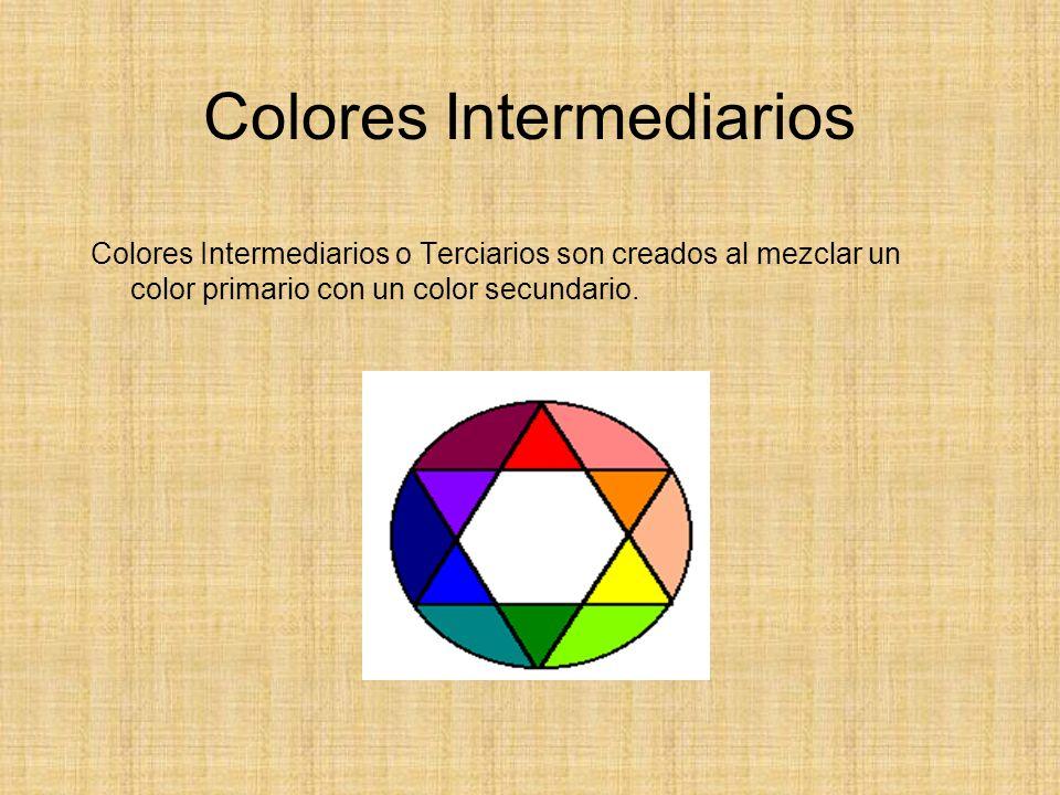Colores Intermediarios