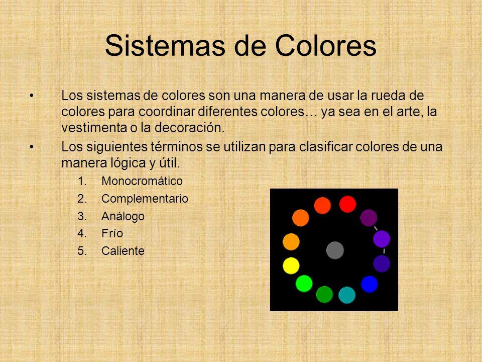 Sistemas de Colores