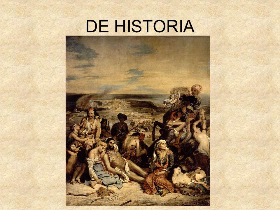 DE HISTORIA
