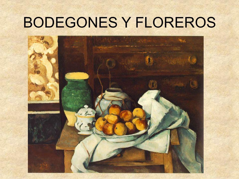 BODEGONES Y FLOREROS