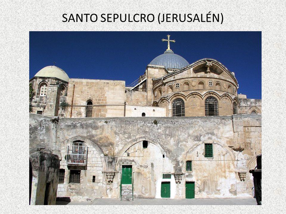 SANTO SEPULCRO (JERUSALÉN)