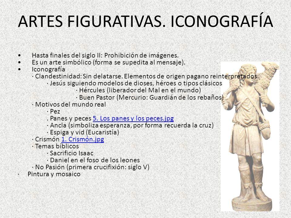 ARTES FIGURATIVAS. ICONOGRAFÍA