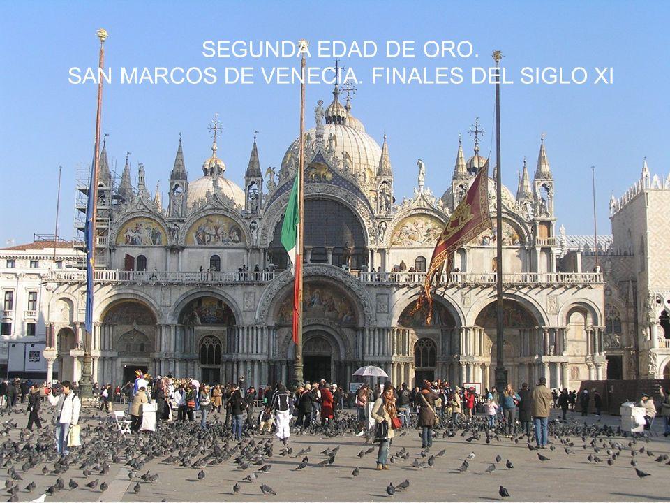 San Marcos de Venecia. Finales del siglo XI