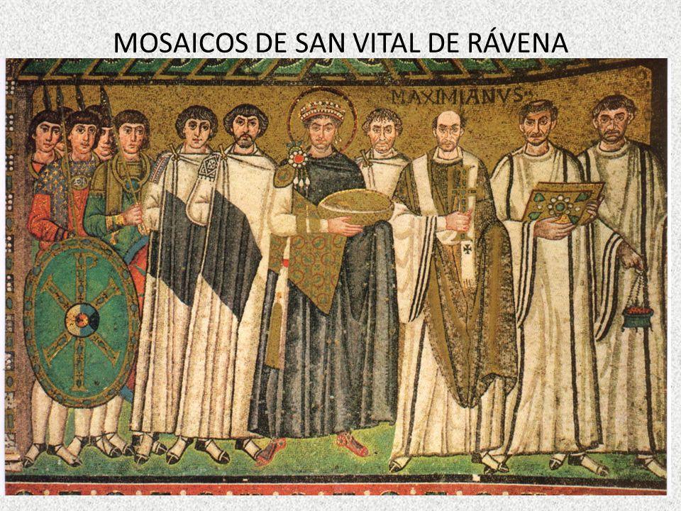 MOSAICOS DE SAN VITAL DE RÁVENA