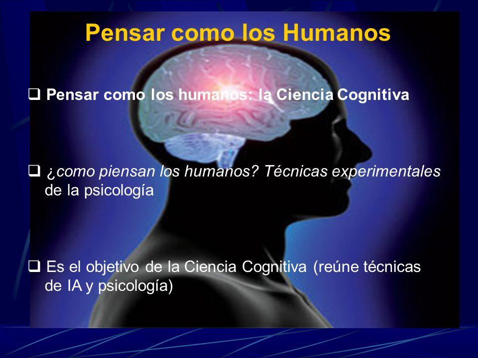 Pensar como los Humanos
