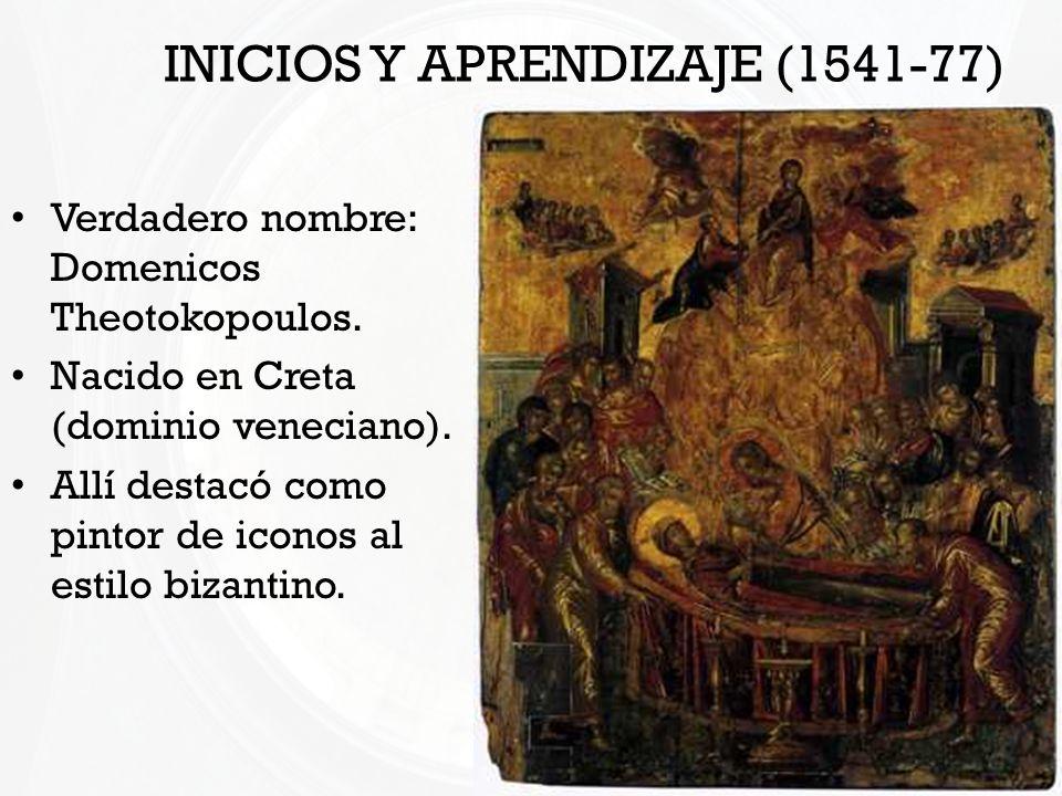 INICIOS Y APRENDIZAJE (1541-77)