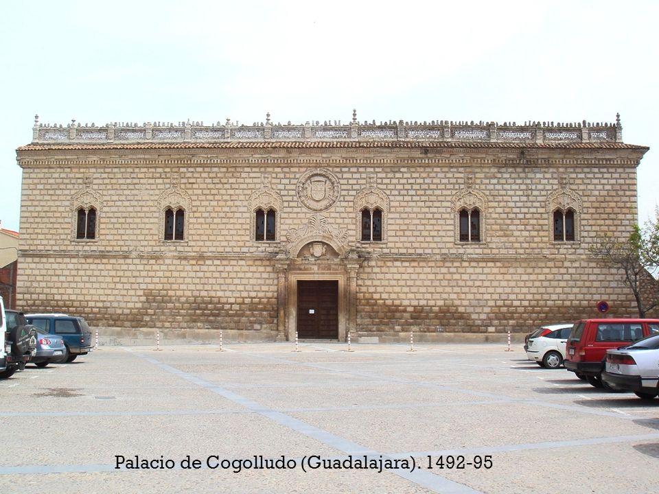 Palacio de Cogolludo (Guadalajara). 1492-95