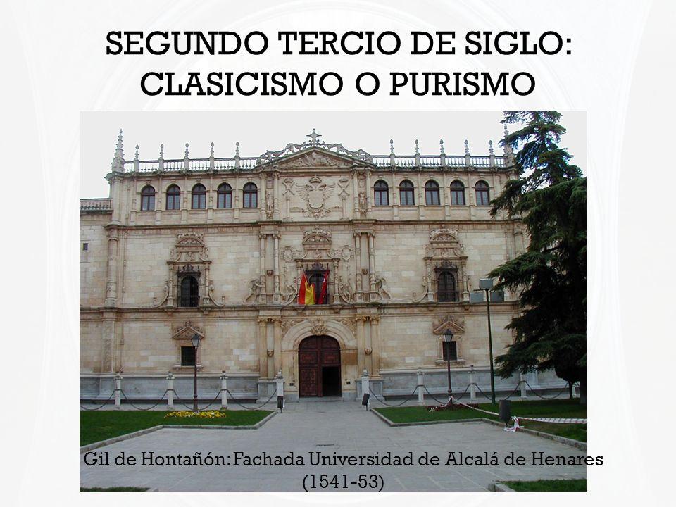 SEGUNDO TERCIO DE SIGLO: CLASICISMO O PURISMO