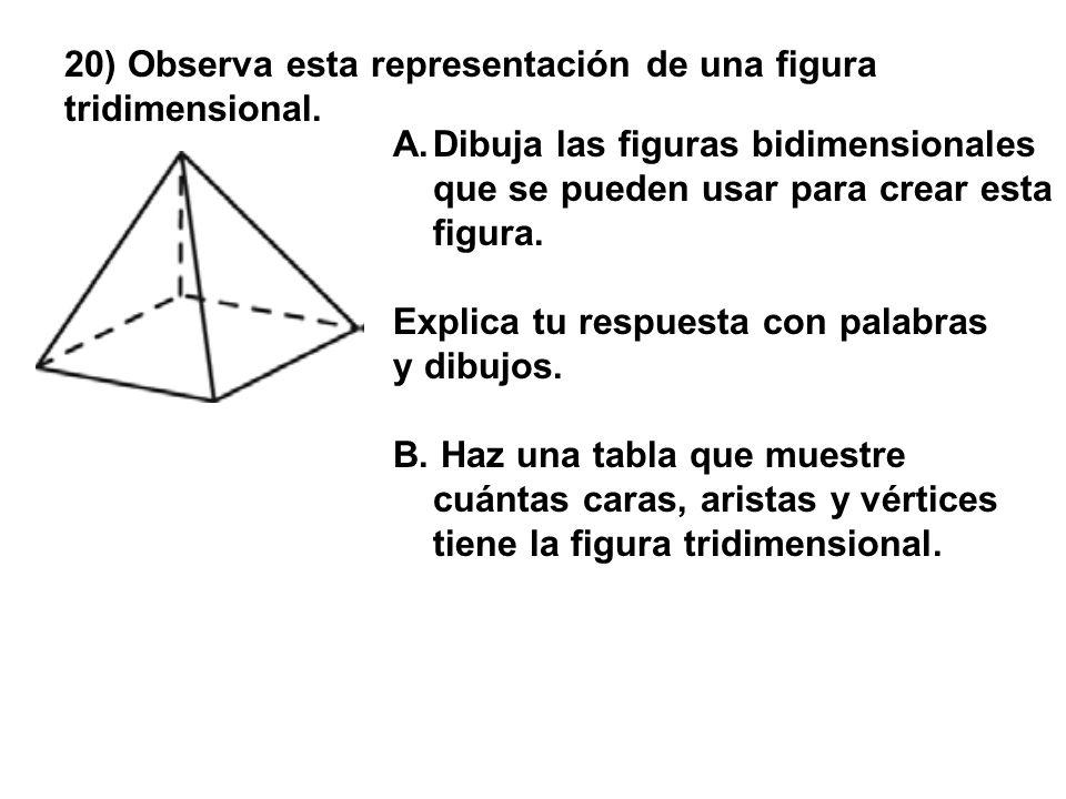 20) Observa esta representación de una figura