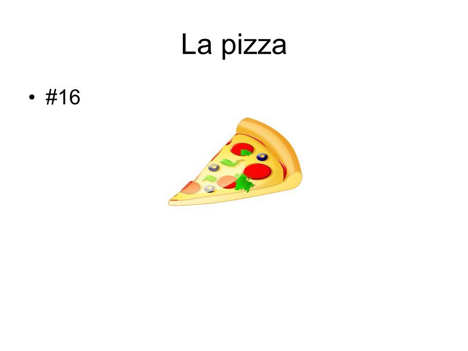 La pizza #16