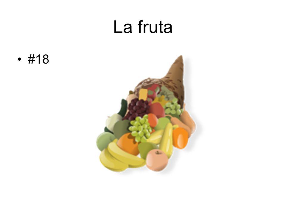 La fruta #18