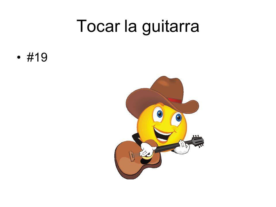 Tocar la guitarra #19
