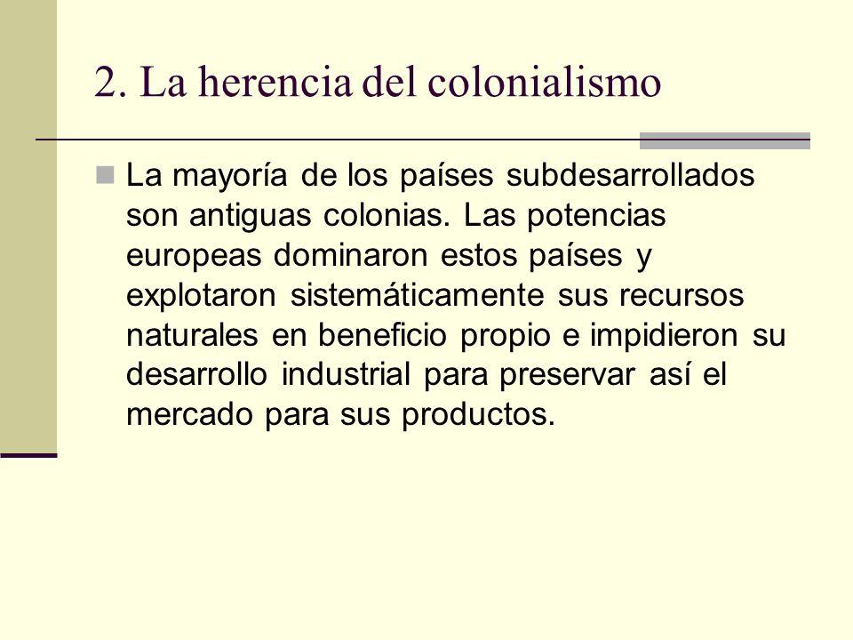 2. La herencia del colonialismo