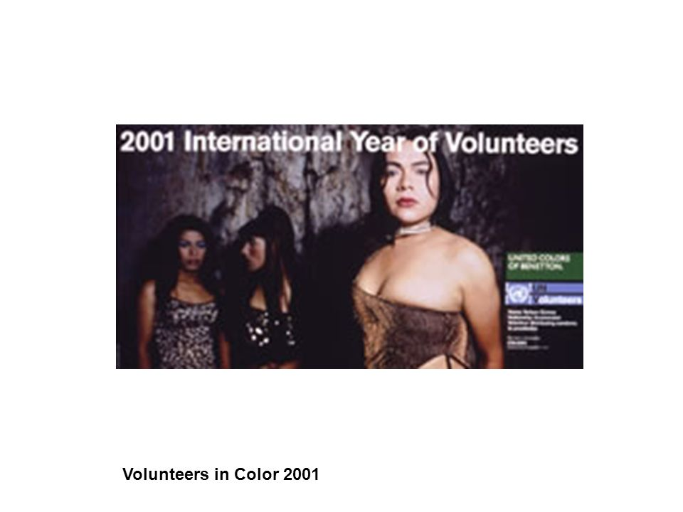 Volunteers in Color 2001