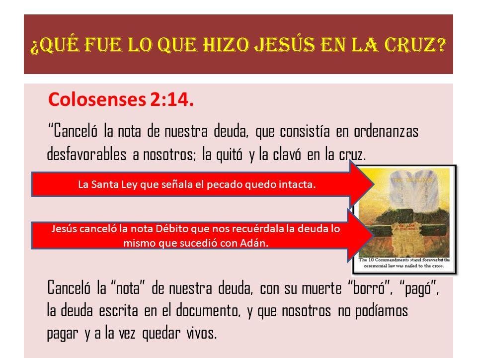 ¿Qué fue lo que hizo Jesús en la Cruz