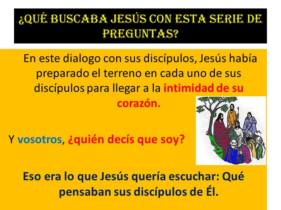 ¿Qué buscaba Jesús con esta serie de preguntas