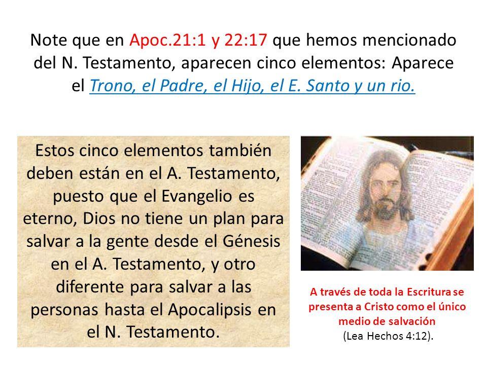 Note que en Apoc. 21:1 y 22:17 que hemos mencionado del N