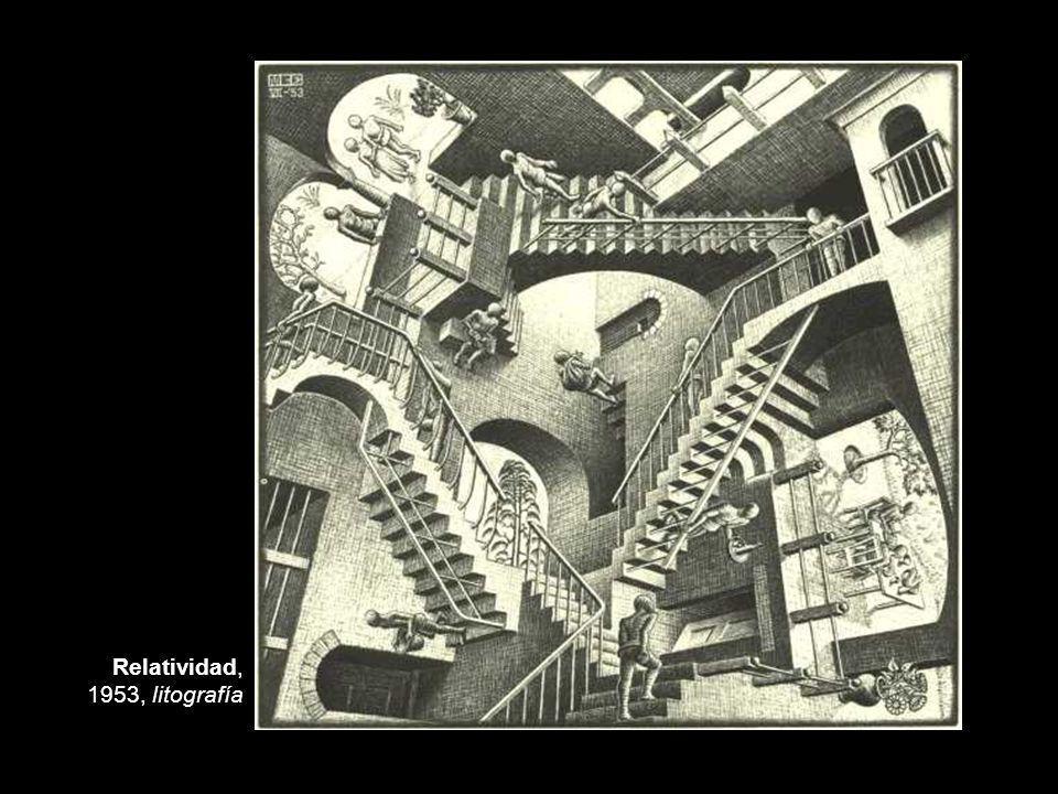 Relatividad, 1953, litografía
