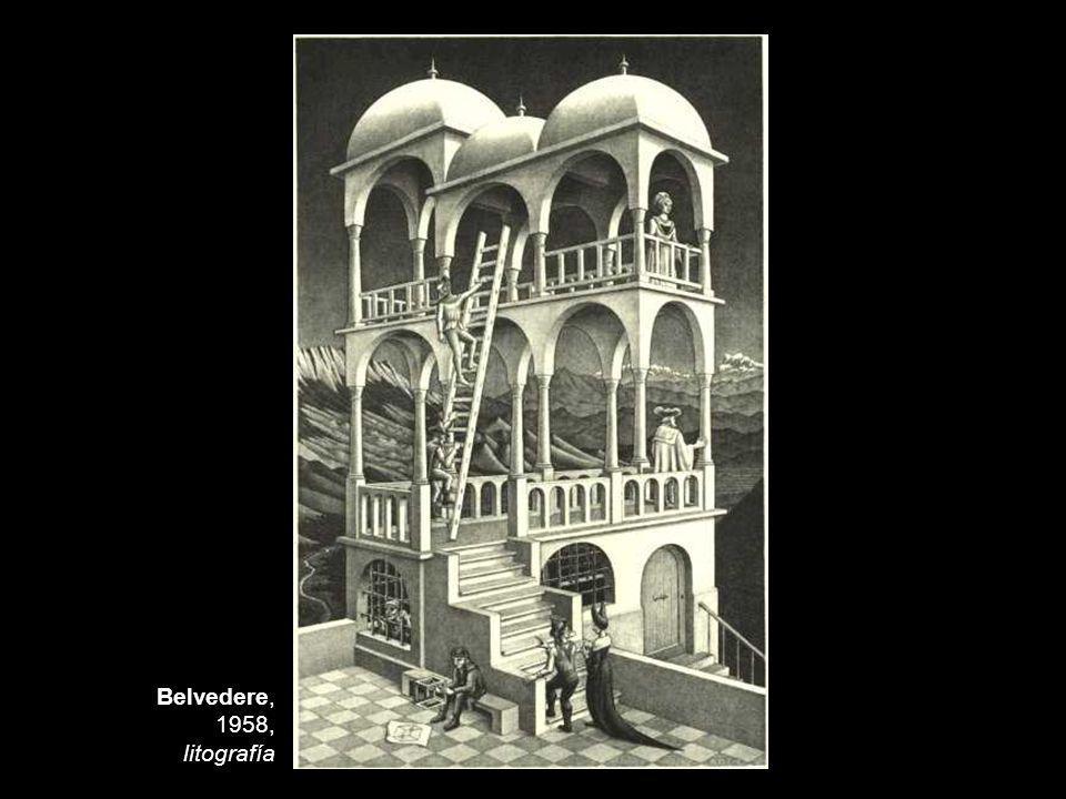 Belvedere, 1958, litografía