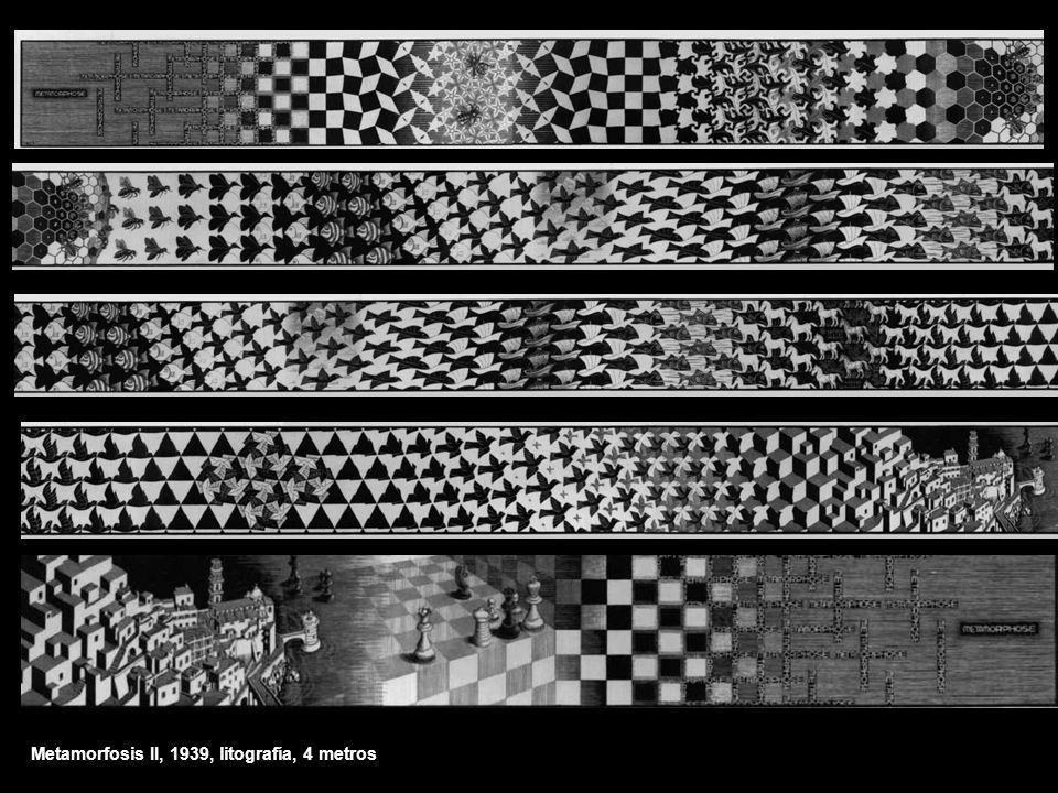 Metamorfosis II, 1939, litografía, 4 metros