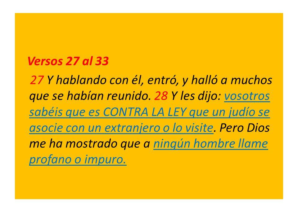 Versos 27 al 33