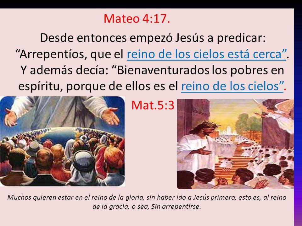 Mateo 4:17.