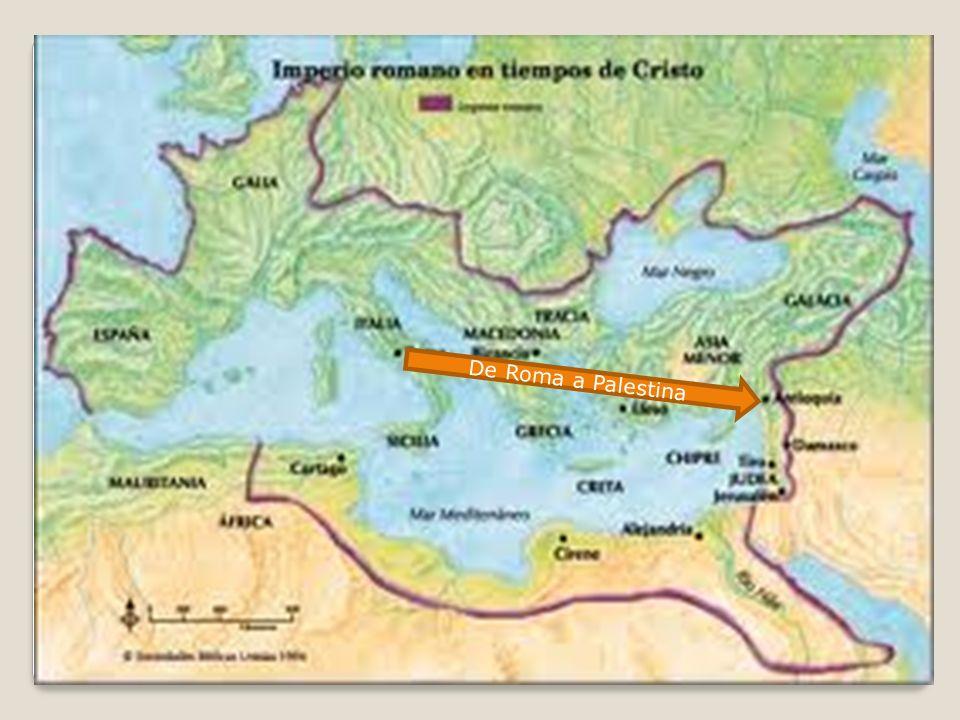 De Roma a Palestina
