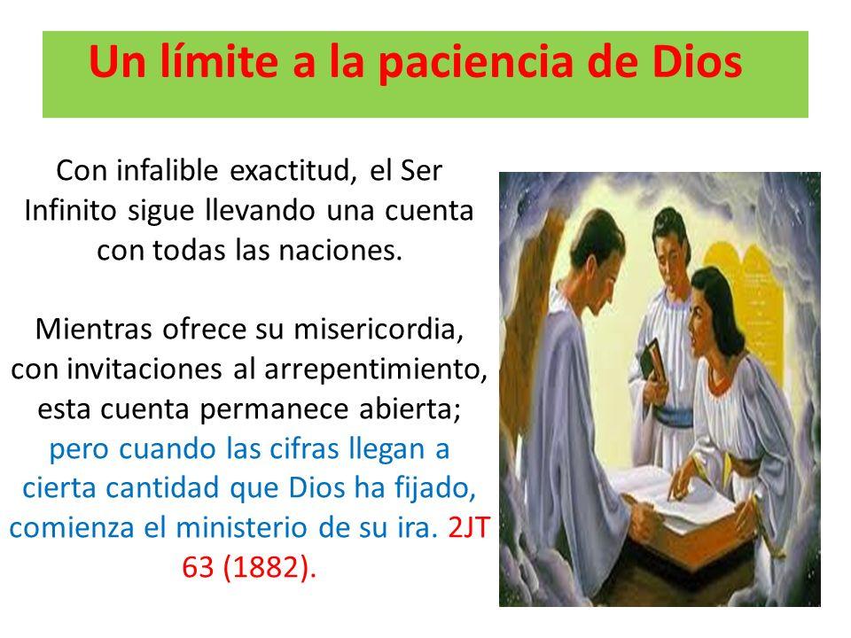 Un límite a la paciencia de Dios