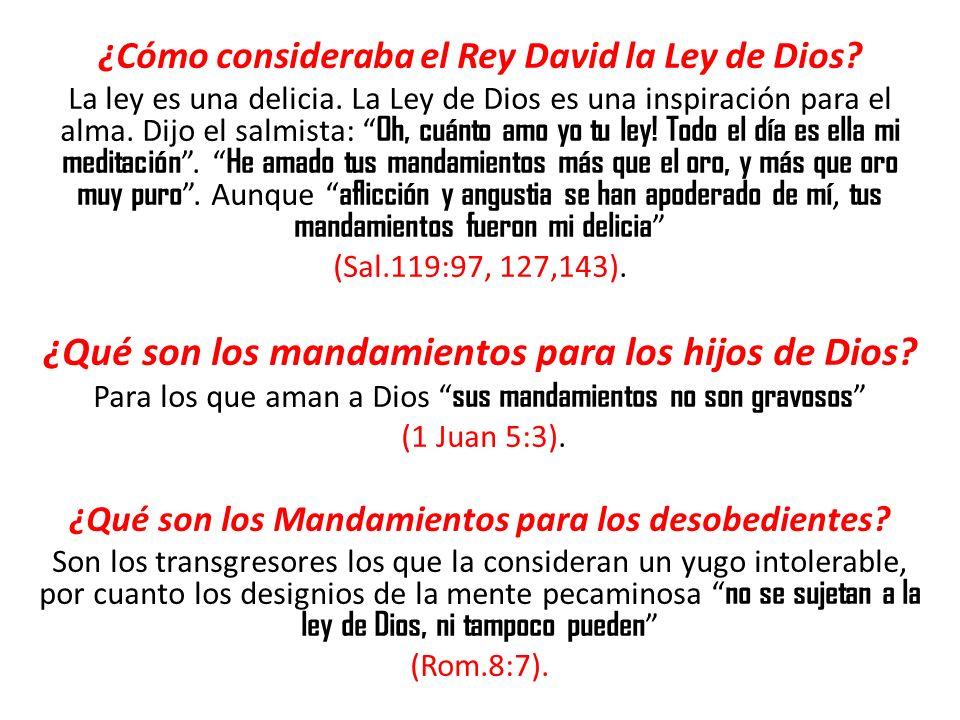 ¿Qué son los mandamientos para los hijos de Dios