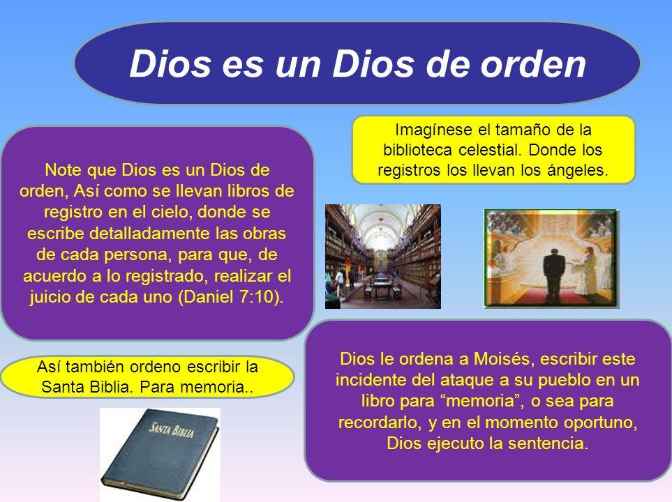Así también ordeno escribir la Santa Biblia. Para memoria..