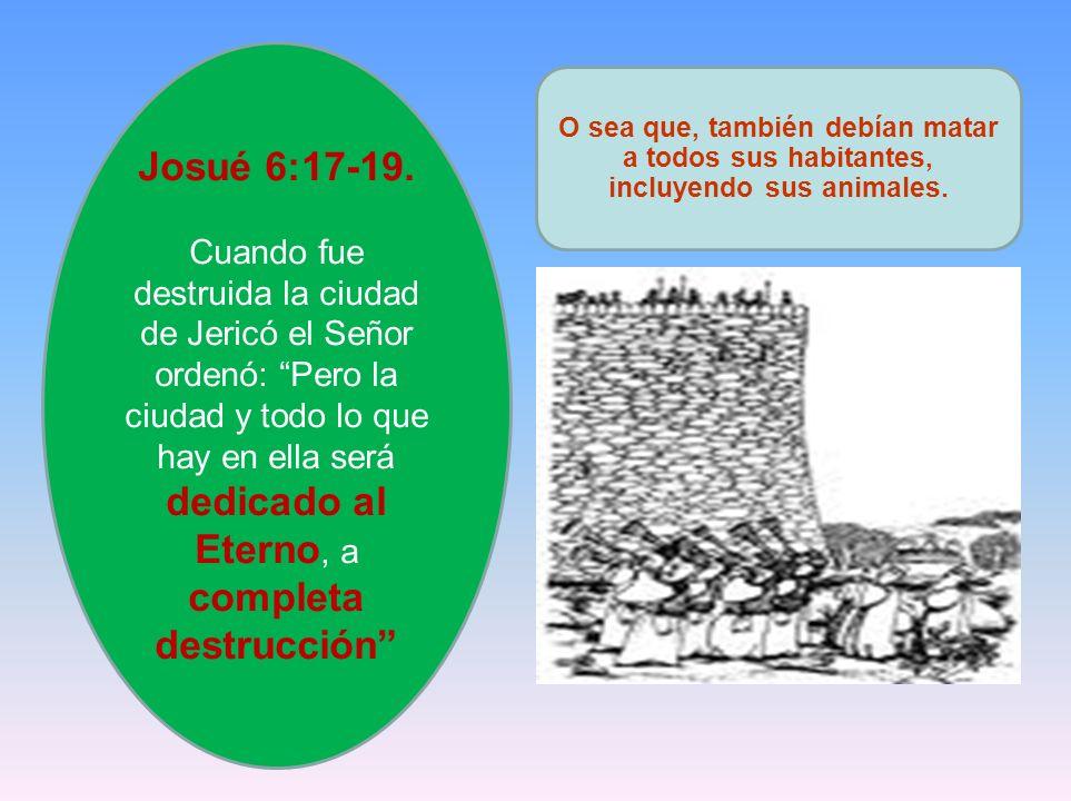 Josué 6:17-19.