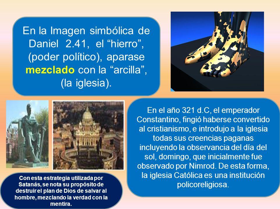 En la Imagen simbólica de Daniel 2