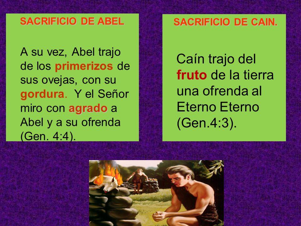 SACRIFICIO DE ABEL