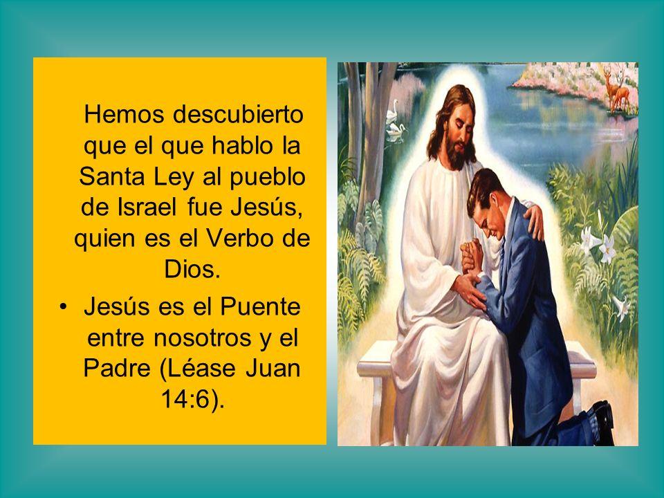 Jesús es el Puente entre nosotros y el Padre (Léase Juan 14:6).