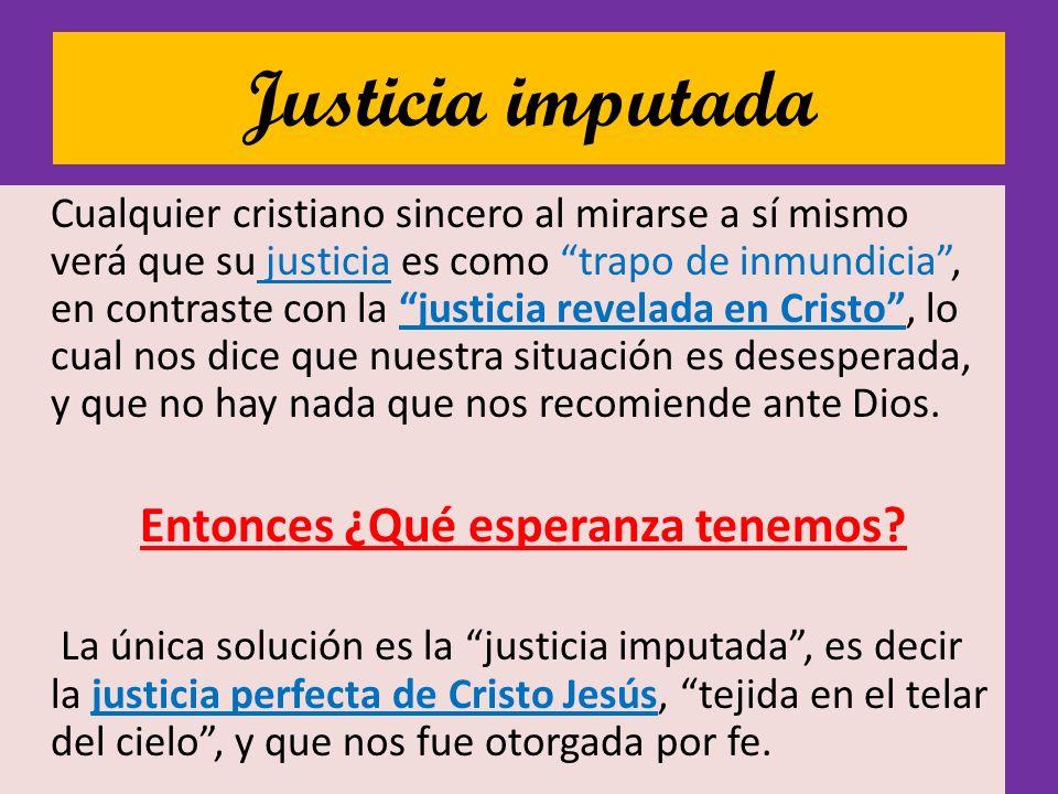 Justicia imputada