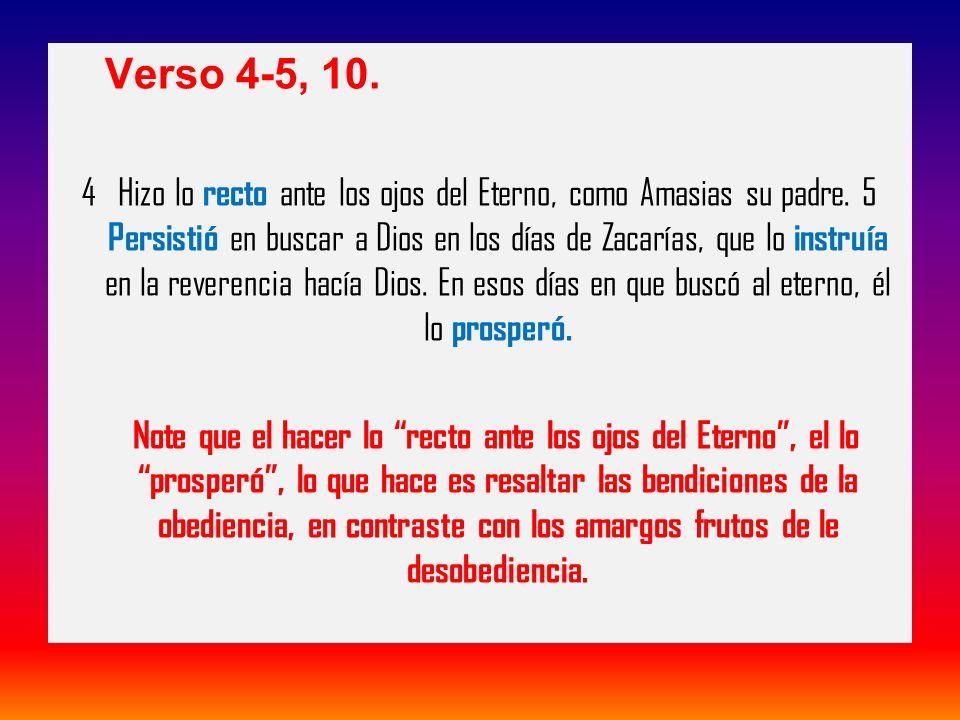 Verso 4-5, 10.