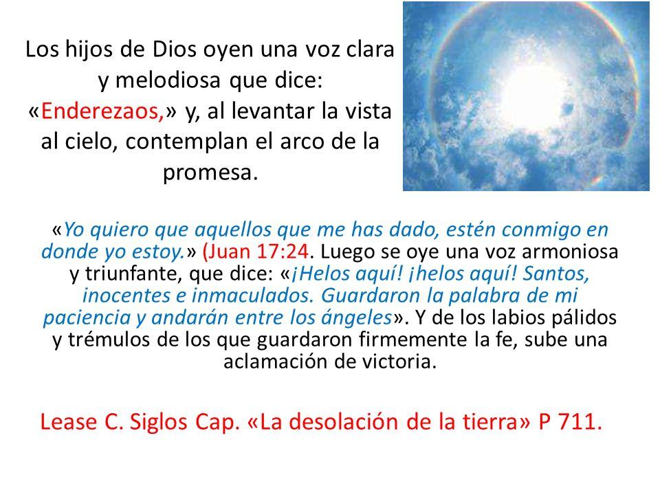 Lease C. Siglos Cap. «La desolación de la tierra» P 711.