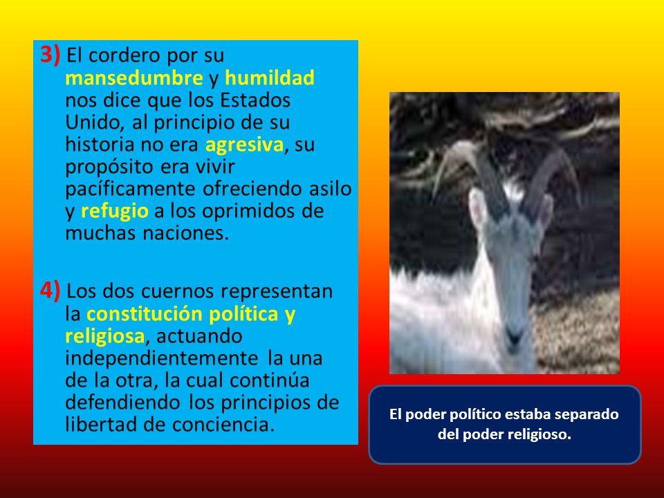 El poder político estaba separado del poder religioso.
