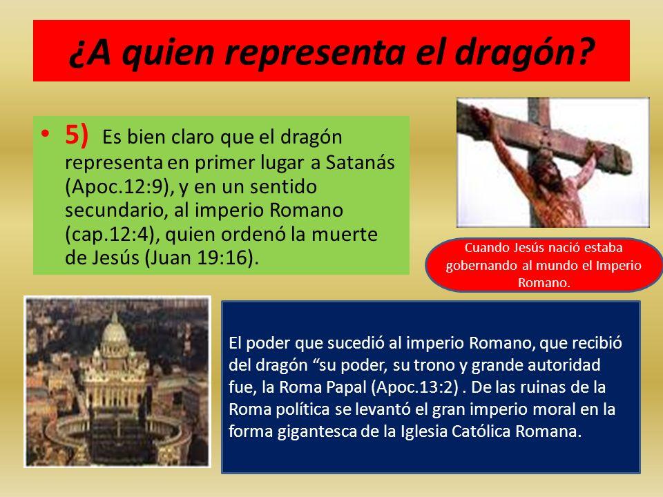 ¿A quien representa el dragón