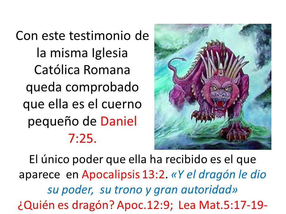 ¿Quién es dragón Apoc.12:9; Lea Mat.5:17-19-