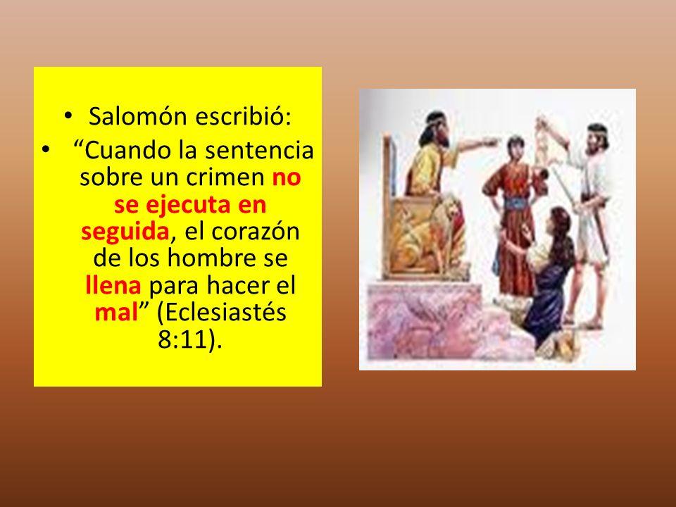 Salomón escribió: