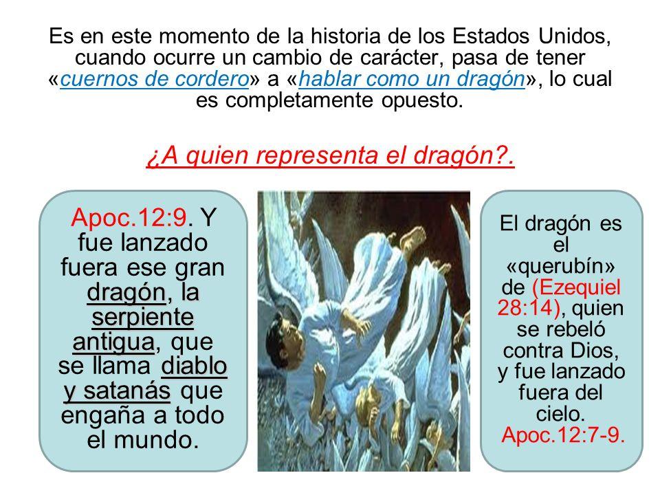 ¿A quien representa el dragón .