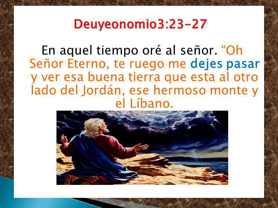 Deuyeonomio3:23-27
